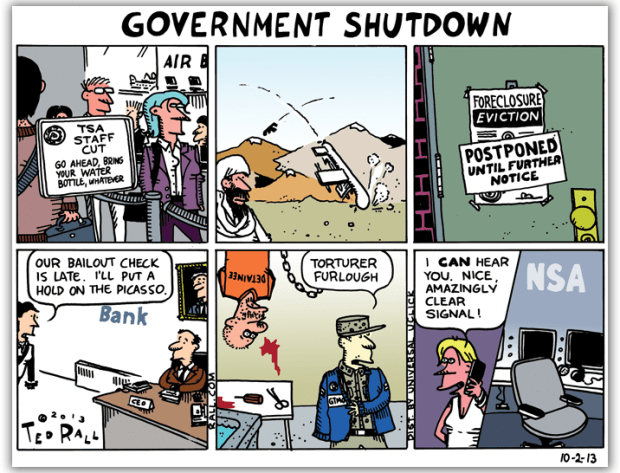 tedrallusgovernmentshutdownoct12013cartoon