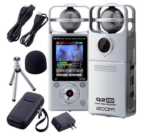 Zoom Q2 HD recorder
