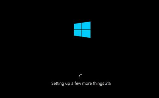 Installing 8.1