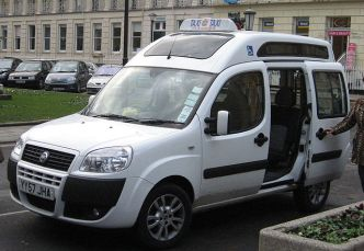 Disable Taxi Uber sharing economy