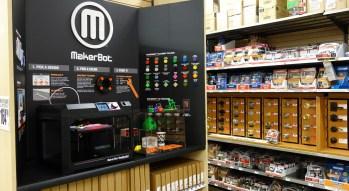 MakerBot 3D printers at Home Depot