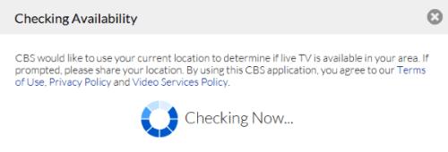 CBS All Access Live Stream