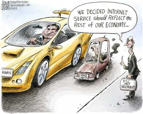 Net neutrality the haves and have nots