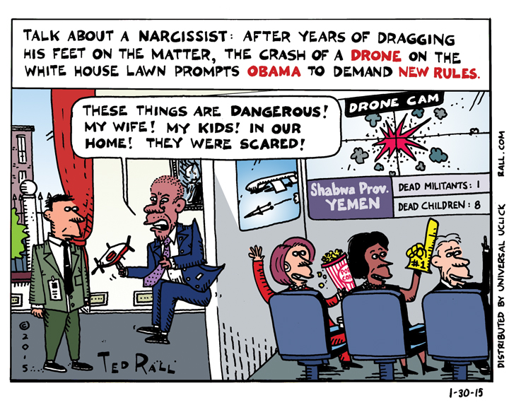 ted-rall-white-house-drones-and-narcissism