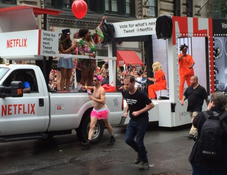 new york city pride parade 2015 orange is the new black netflix