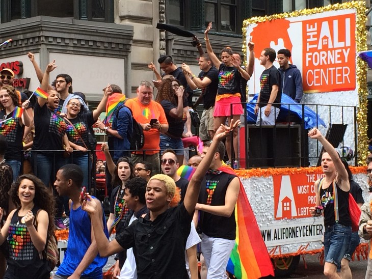 new york city pride parade 2015 the ali forney center