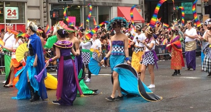 new york city pride parade 2015 international costumes