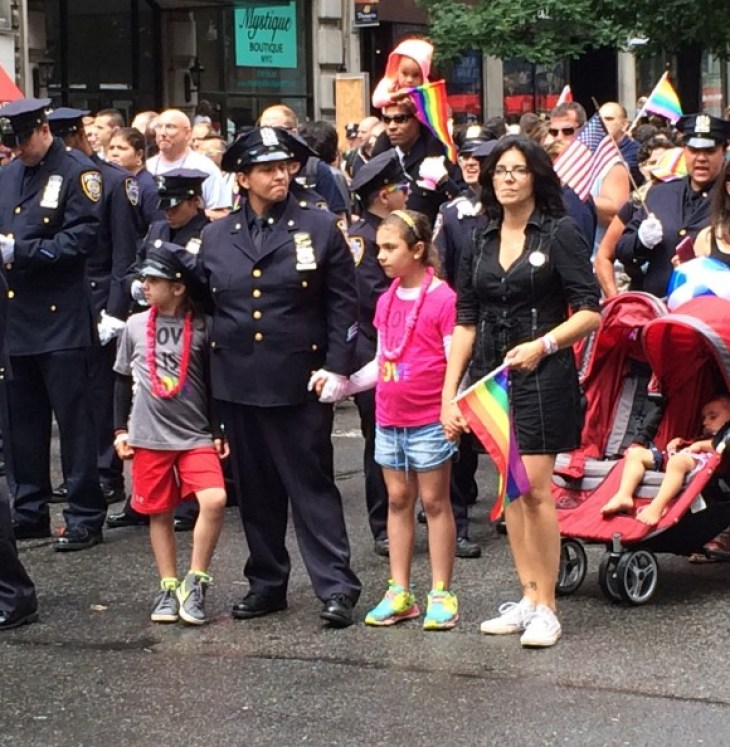 new york city pride parade 2015 families