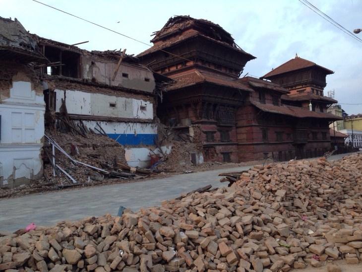 Kathmandu Durbar square nepal quake MPOWERD