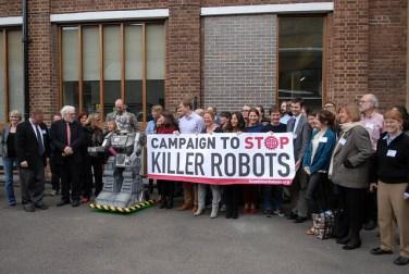 campaign to stop killer robots autonomous weapons