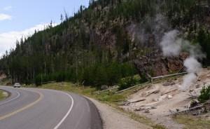 Yellowstone Park road steve wozniak tesla anewdomain