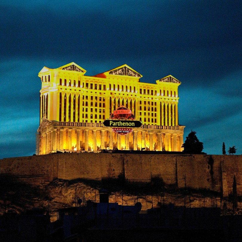 Greece Donald Trump greek debt solution