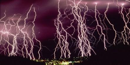 lightning strikes global warming