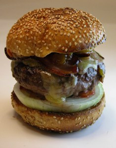 stem cell burger hamburger