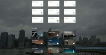 snapseed menu featured