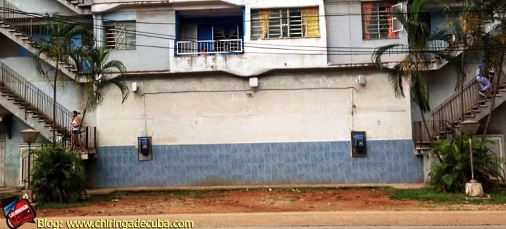 Three Huawei WiFi antennae in Havana cuba wifi