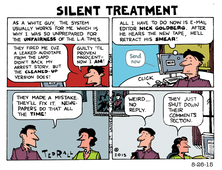 ted rall latimes silent treatment