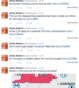 ashley madison twitter facebook ashley madison class action suit s