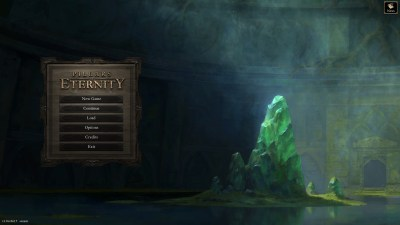 Load screen Pillars of Eternity review