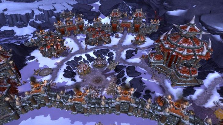 warlords of draenor Horde Garrison