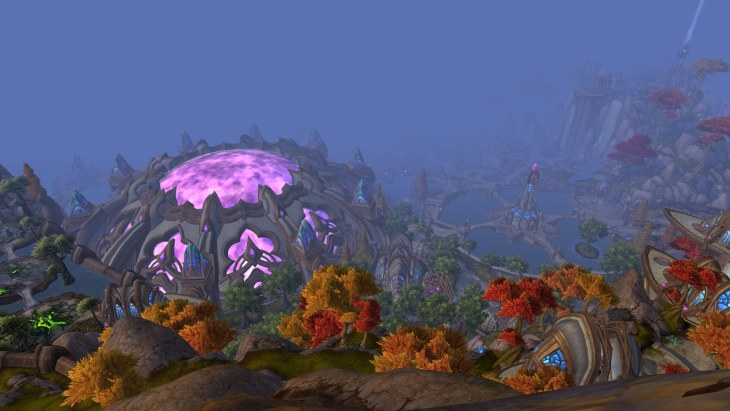 warlords of draenor Nagrand looking back