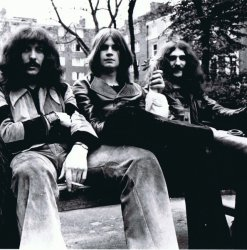 black sabbath on a bench featured