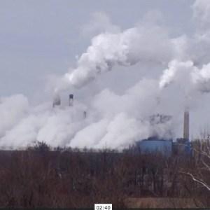 Pollution shot from Children's trust video