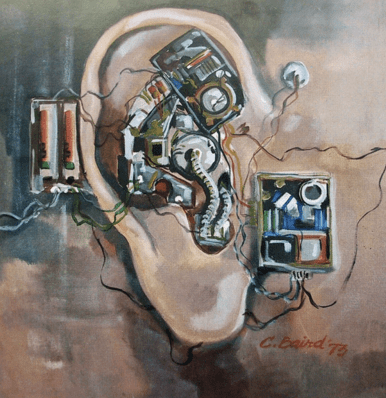 Mechanical Ear by Chuck Baird telecoils