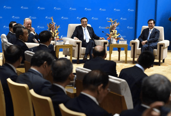 Le Keqiang Boao Forum for Asia 2016 BFA Gina Smith Toyota anewdomain
