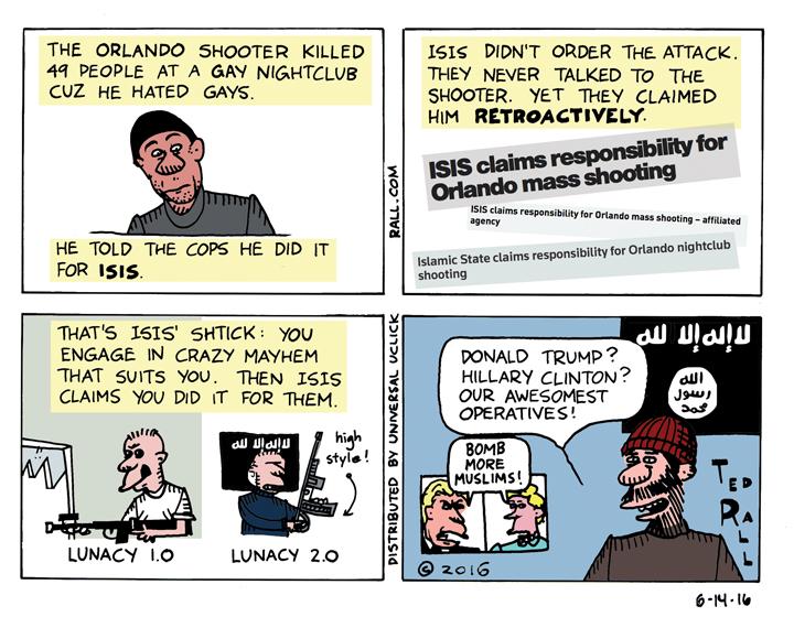ISIS Orlando shooting