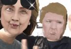 Camo for Live Masks for Presidential Debate