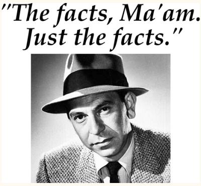 joe friday just the facts ma'am data programs dennis d mcdonald anewdomain big data donald trump