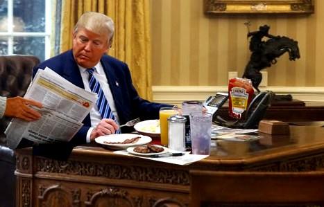Trump morning briefing