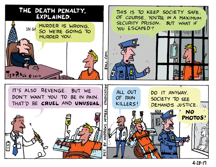 the death penalty explained ted rall