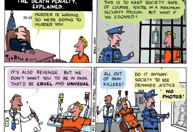 death penalty explained ted rall