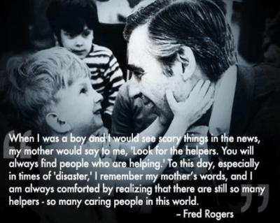 mr rogers look for the helpers