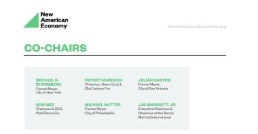 new american economy NAE Greg Gianforte
