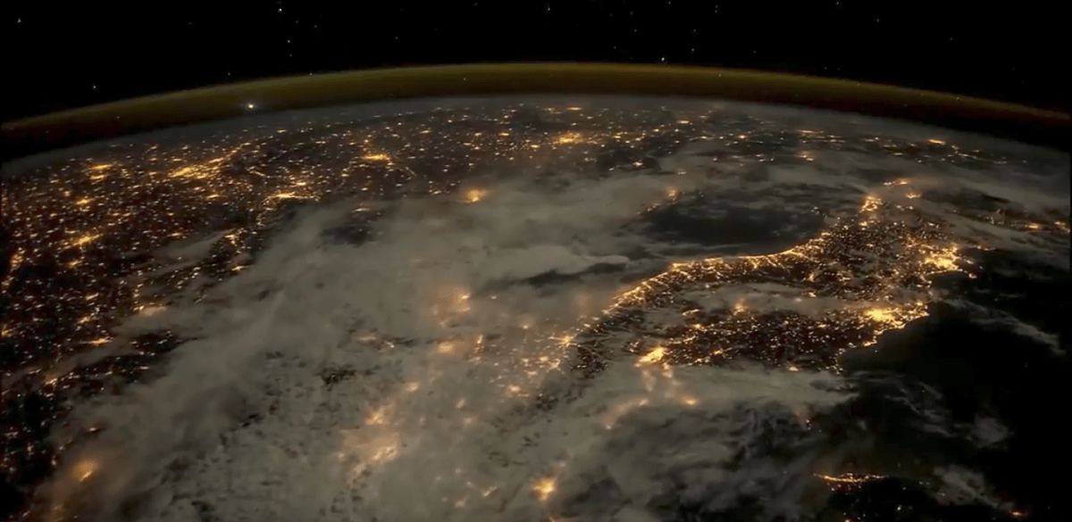 WATCH: This Time-Lapse Collection of Earth Images from Space Is Awesome