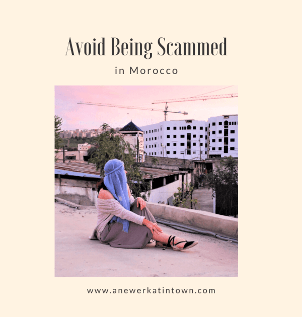 avoid being scammed in morocco