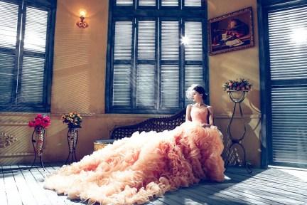 bride, woman, model