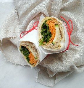 Vegan Tuna Wrap
