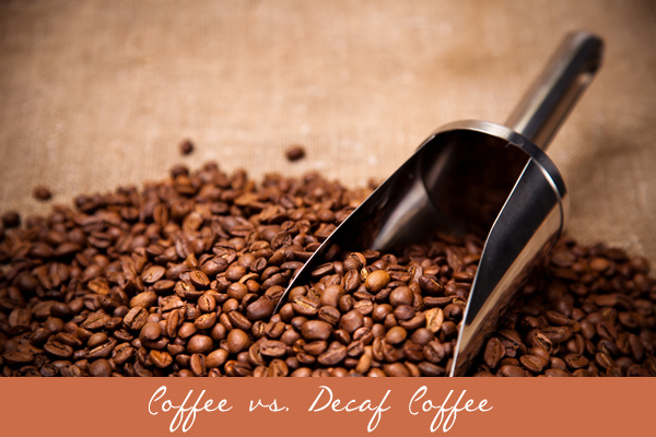 Coffee vs. Decaf Coffee