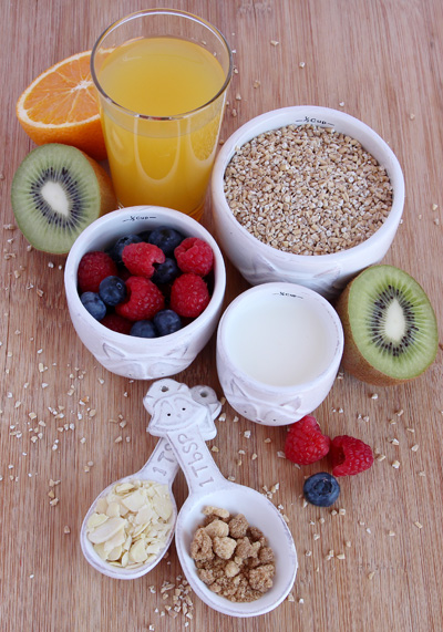 Delicious Fruity Porridge