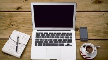 Business Office Laptop Computer