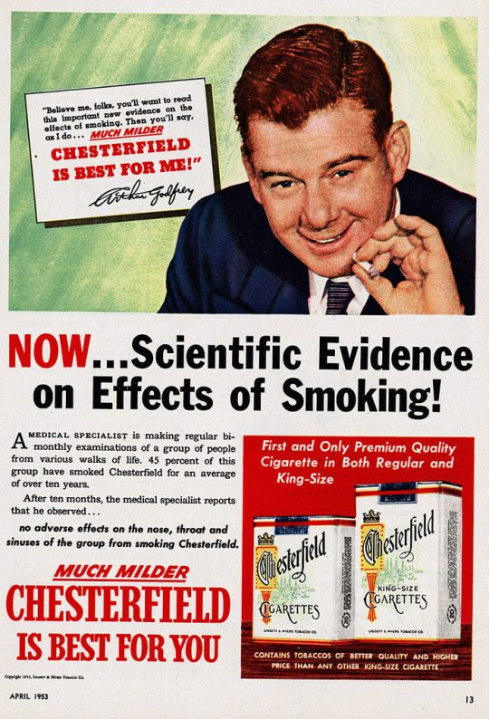 when science is used to deceive the public
