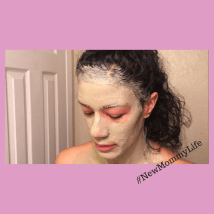 #NewMommyLife-FaceMask