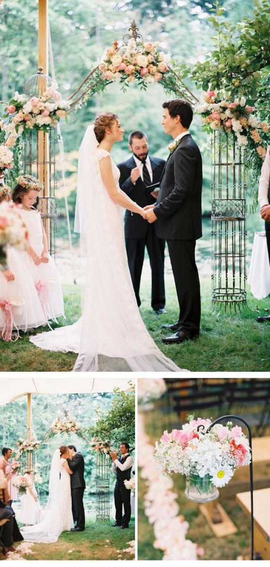 boda perfecta campo