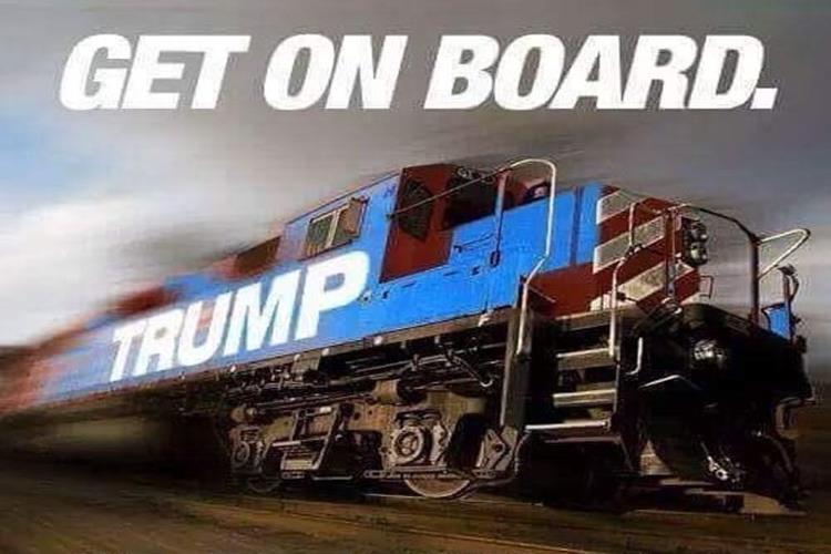 Still No Brakes On The Trump Train Anewscafe Com