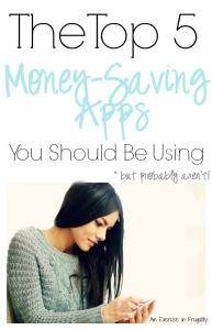 Top Five Money-Saving Apps You NEED to Use