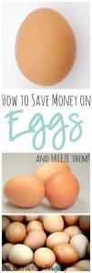 Save Money on Eggs
